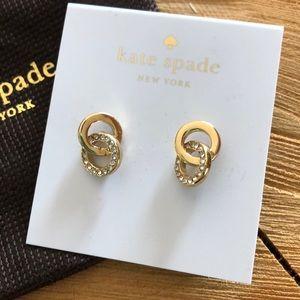 """NWT Kate Spade Earrings """"Infinity & Beyond"""""""